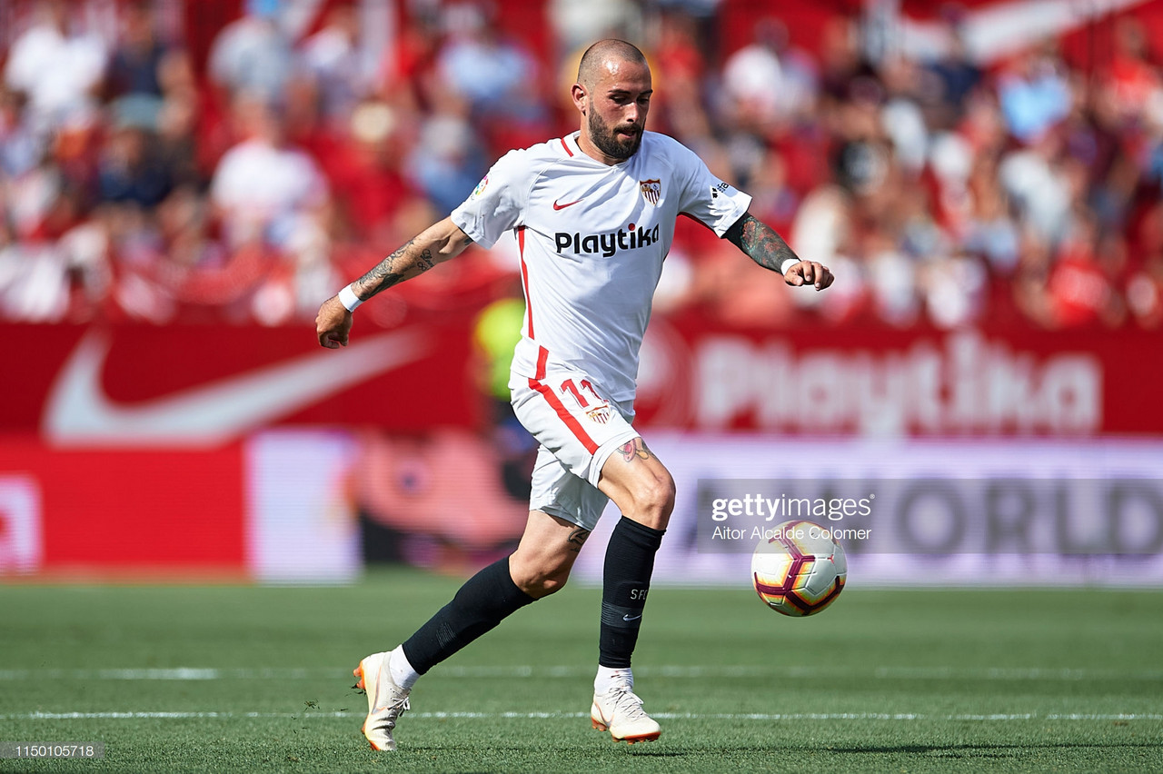 Alaves sign Sevilla's Aleix Vidal on a season-long loan