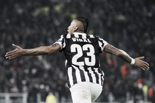 Arturo Vidal discusses Juventus future