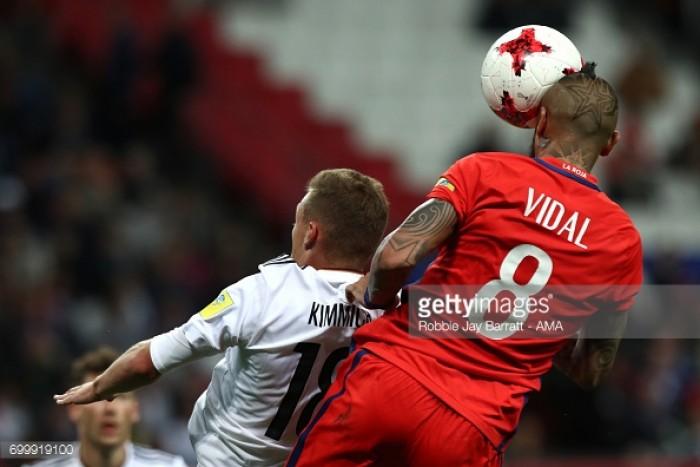 Germany 1-1 Chile: Stindl leveller cancels out Sanchez opener in Kazan