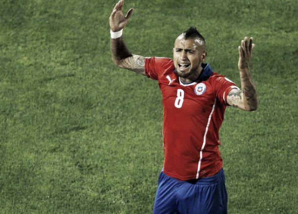 """Vidal: """"Debemos mejorar, el objetivo es grande"""""""