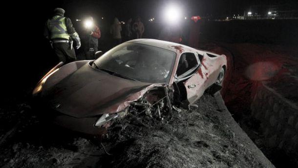 Vidal e la moglie in ospedale dopo un incidente d'auto