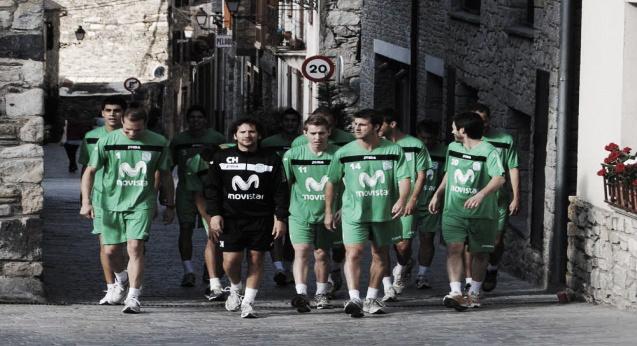 Inter Movistar comienza su segunda semana de preparación en Vielha