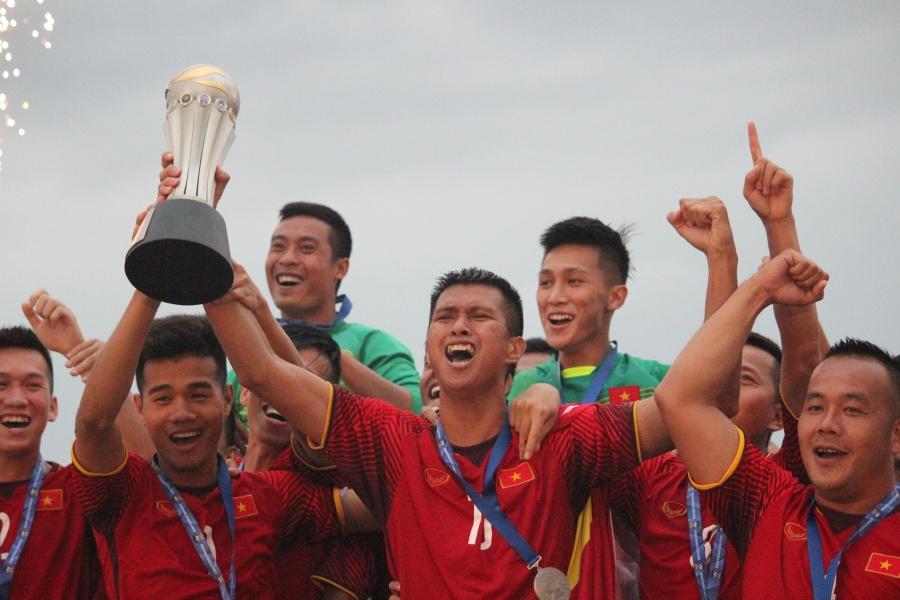 Vietnam Juara Sepakbola Pantai
