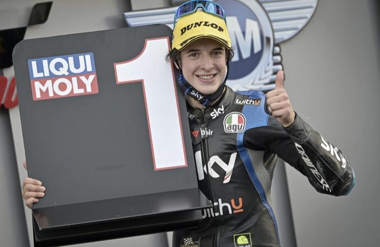 Celestino Vietti en el Gran Premio de Francia / Foto: motogp.com