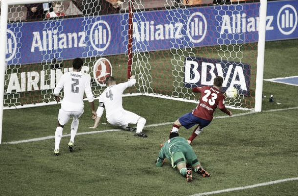Atletico Madrid 1-1 Real Madrid: Vietto gives Atleti a point in the derby with a late equalizer