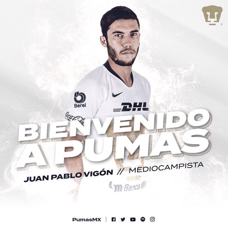 Pumas anuncia primeros refuerzos