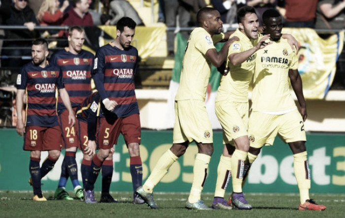 Villarreal 2-2 Barcelona: Draw at El Madrigal after Catalan's let lead slip