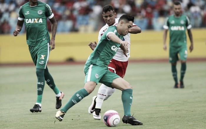 Em jogo bastante equilibrado, Vila Nova e Goiás empatam no Olímpico