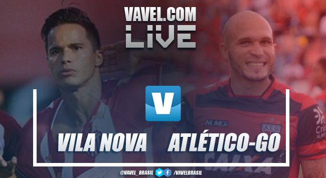 Vila Nova x Atlético-GO AO VIVO hoje (0-0)