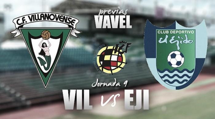 Previa Villanovense - El Ejido: continúa el camino hacia el objetivo de 45 puntos