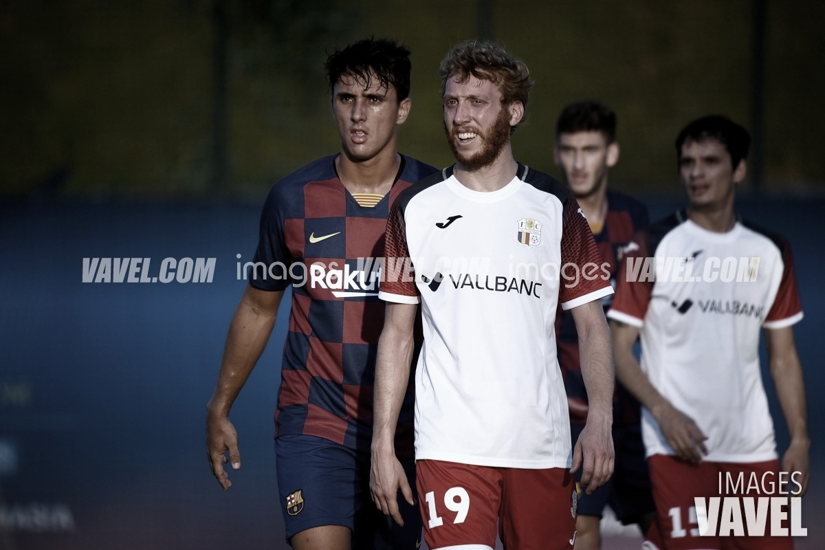 Ignasi Vilarrasa firma con el Valladolid Promesas
