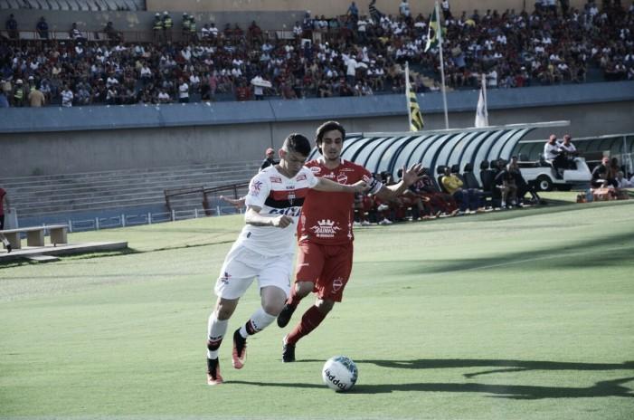 Movimentado do início ao fim, clássico entre Vila Nova e Atlético-GO termina sem gols