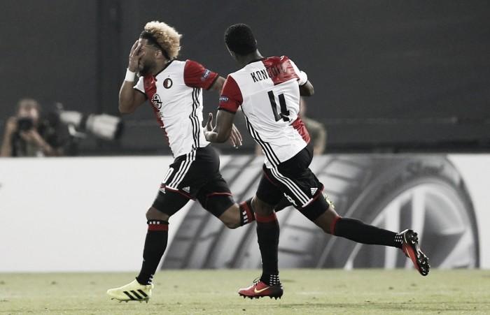 Feyenoord 1-0 Manchester United: Late Vilhena winner condemns Mourinho to European defeat