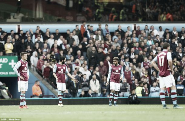 Eight games in, where is it all going wrong for Aston Villa?