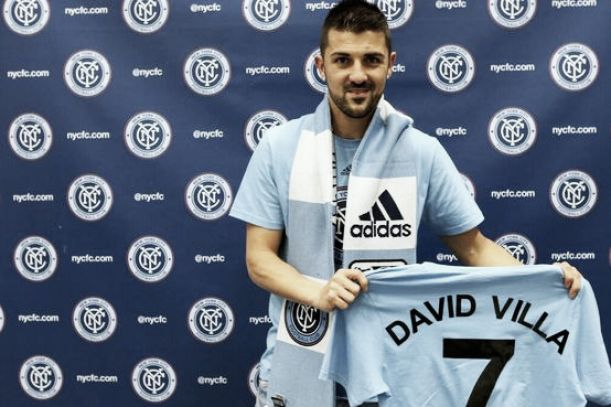 David Villa assina pelo New York City