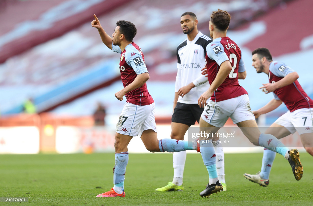 Aston Villa 3-1 Fulham: Hosts come from behind in thrilling second-half