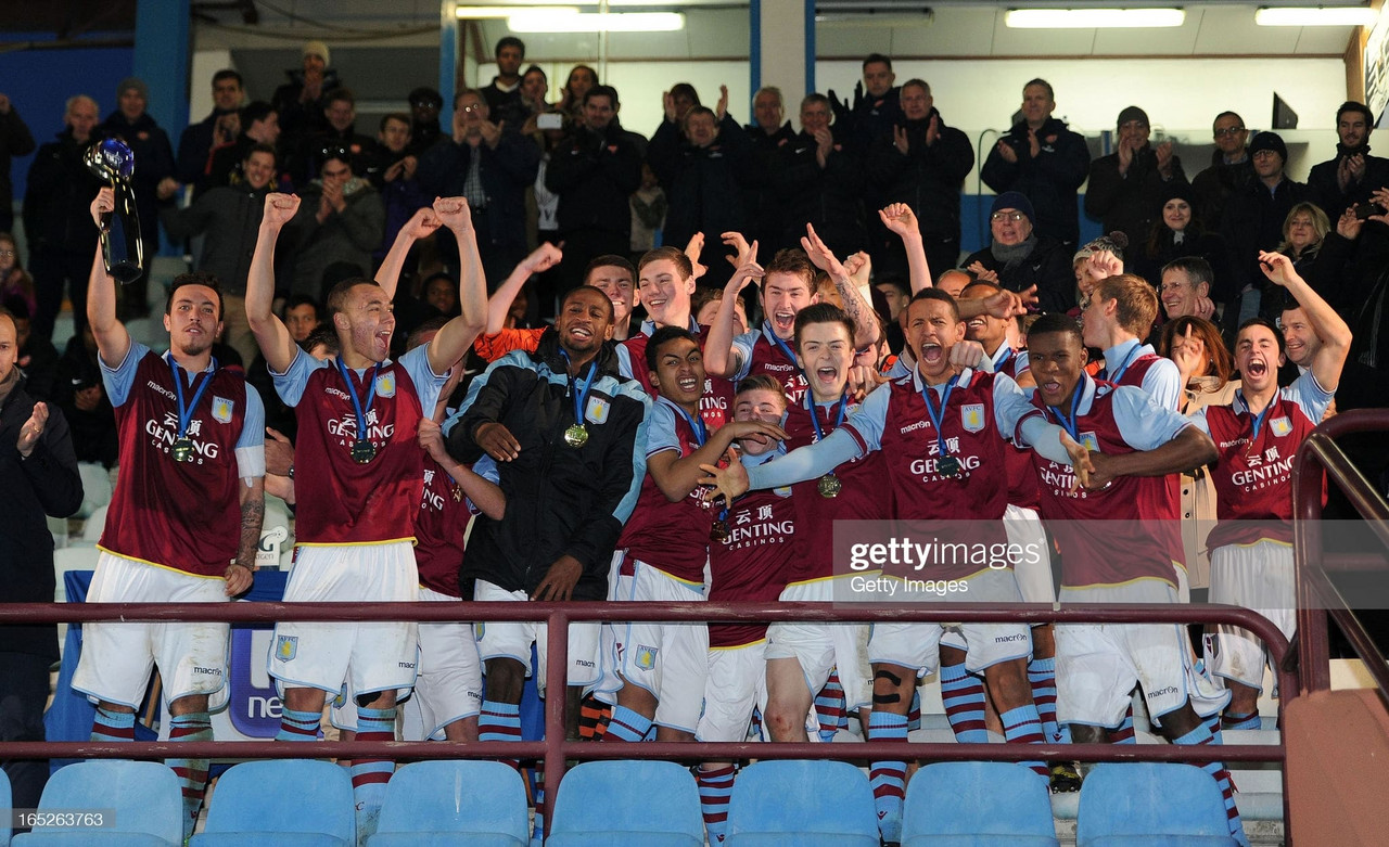 What happened to the Aston Villa under 19 European Champions from 2013?