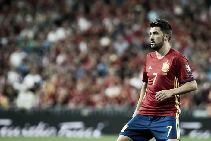 David Villa tem lesão confirmada e é cortado da Seleção Espanhola