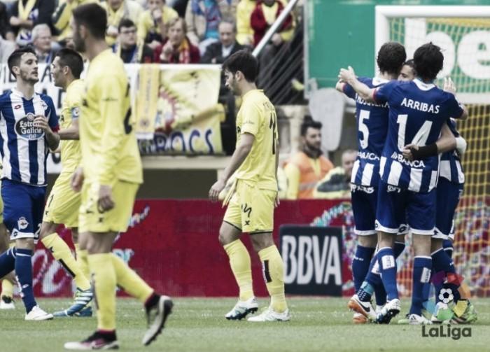Deportivo La Coruña vence Villarreal fora de casa e se garante na elite da Liga Espanhola