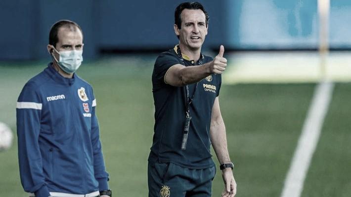 Unai Emery destaca pontos fortes do Villarreal após virada sobre Eibar