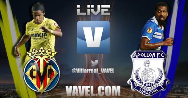 Europa League en vivo: Villarreal vs Apollon Limassol en directo online