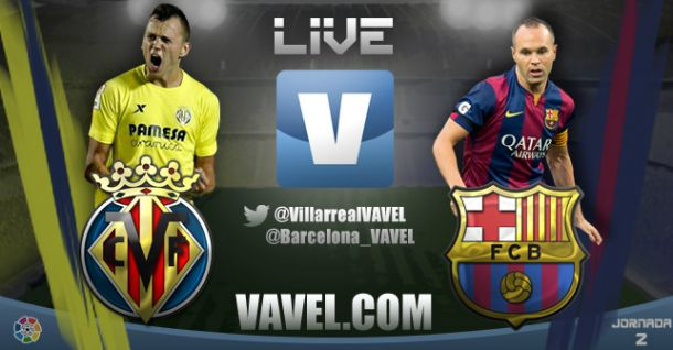 Live Liga BBVA : le match Villarreal - FC Barcelone en direct