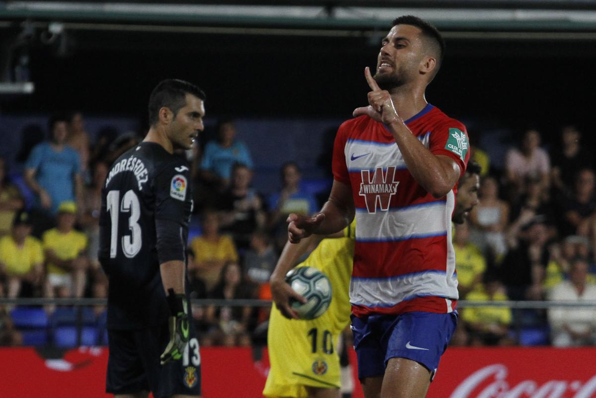 Villarreal - Granada CF: puntuaciones del Granada, jornada 1 de La Liga Santander