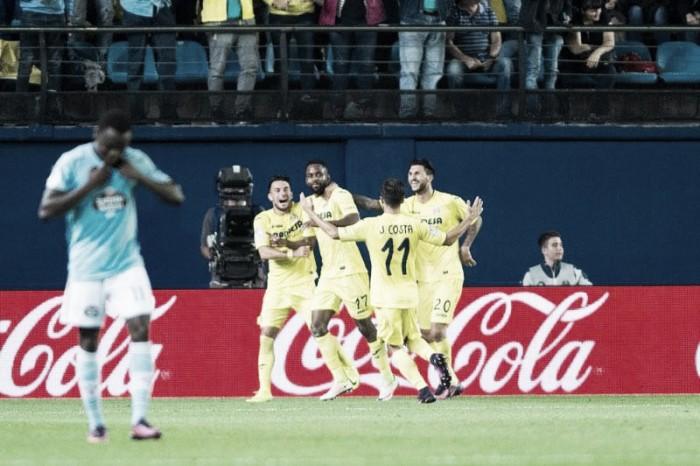 Villarreal golea a un Celta irreconocible