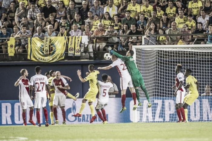 Com vantagem no agregado, Monaco recebe Villarreal pelo playoff da Champions