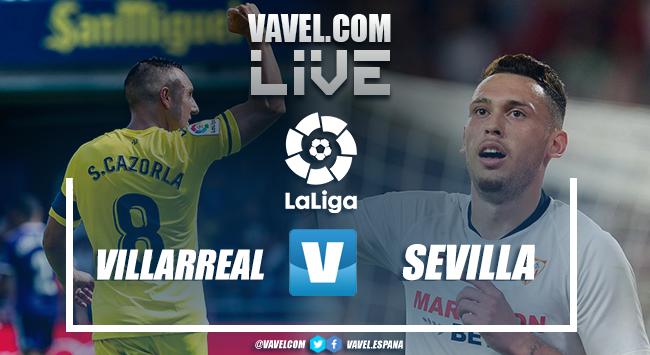 Resumen Villarreal vs Sevilla (2-2)