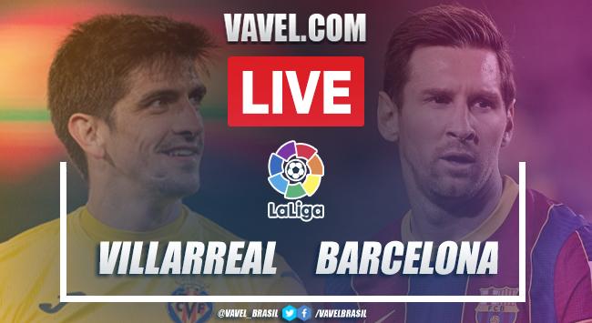 Gols e melhores momentos de Villarreal 1 x 2 Barcelona pelo Campeonato Espanhol
