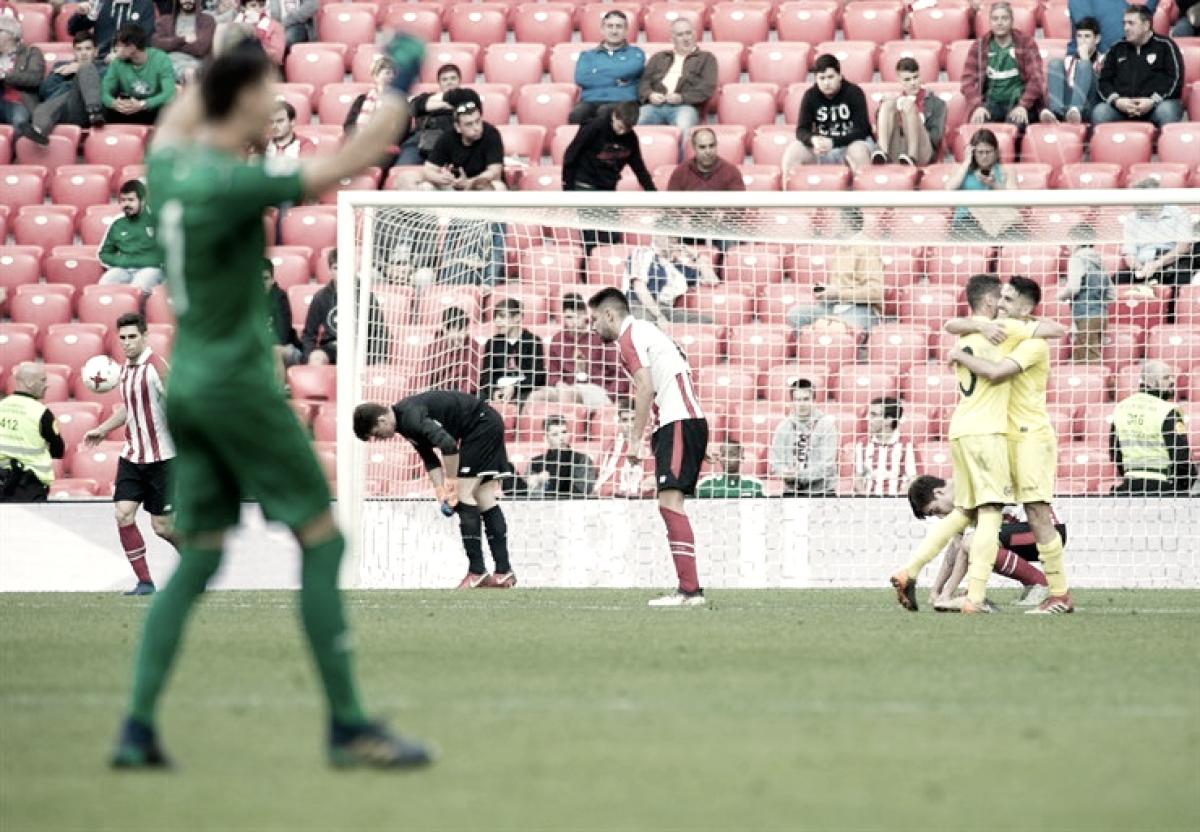 El Villarreal B conquista San Mamés