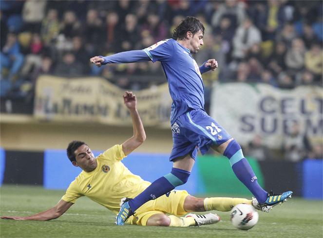 El Getafe hunde al Villarreal (1-2)