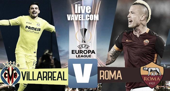 Europa League - Dzeko e Palmieri stendono il Villarreal. La Roma passa 4-0