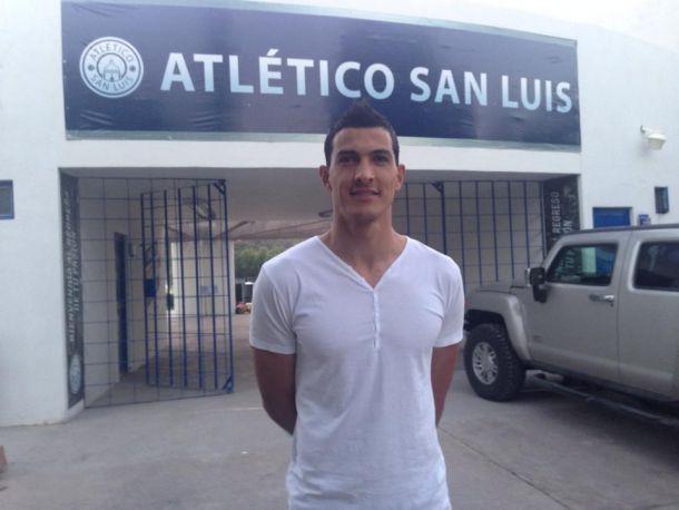 """Israel Villaseñor: """"El Atlético San Luis es realmente un equipo de primera división"""""""