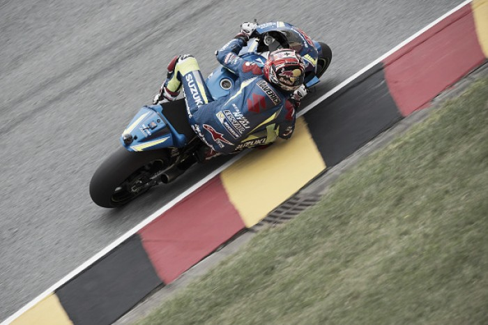 Vinales leads after day one of the MotoGP at Sachsenring