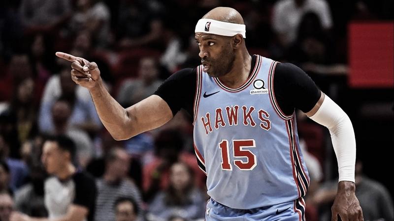 Após renovação com Atlanta Hawks, Vince Carter quebra recordes na NBA