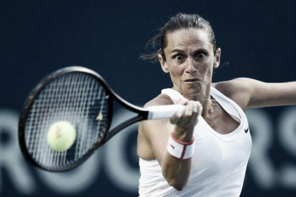 WTA New Haven: Giorgi subito fuori, qualificata la Vinci