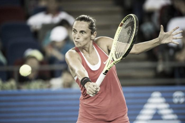 WTA Kuala Lumpur: Vinci subito eliminata dalla Chang