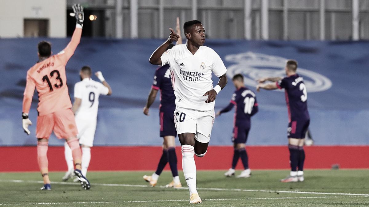 Análisis post Real Madrid - Real Valladolid: Vinícius da luz a la falta de gol