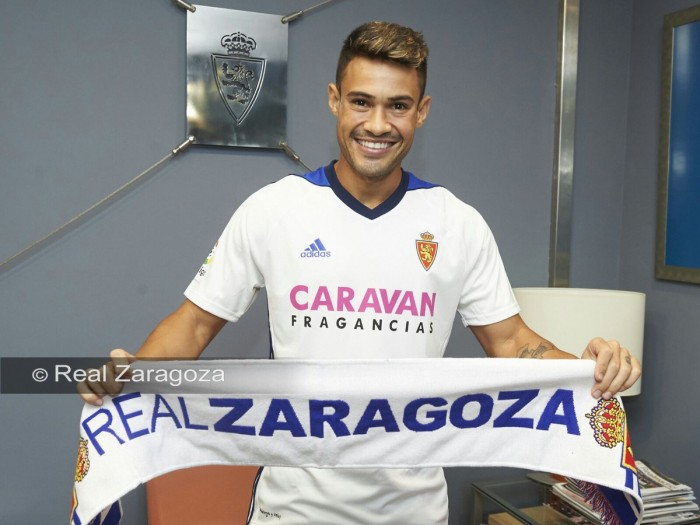 Vinícius Araújo se convierte en el último fichaje del Real Zaragoza