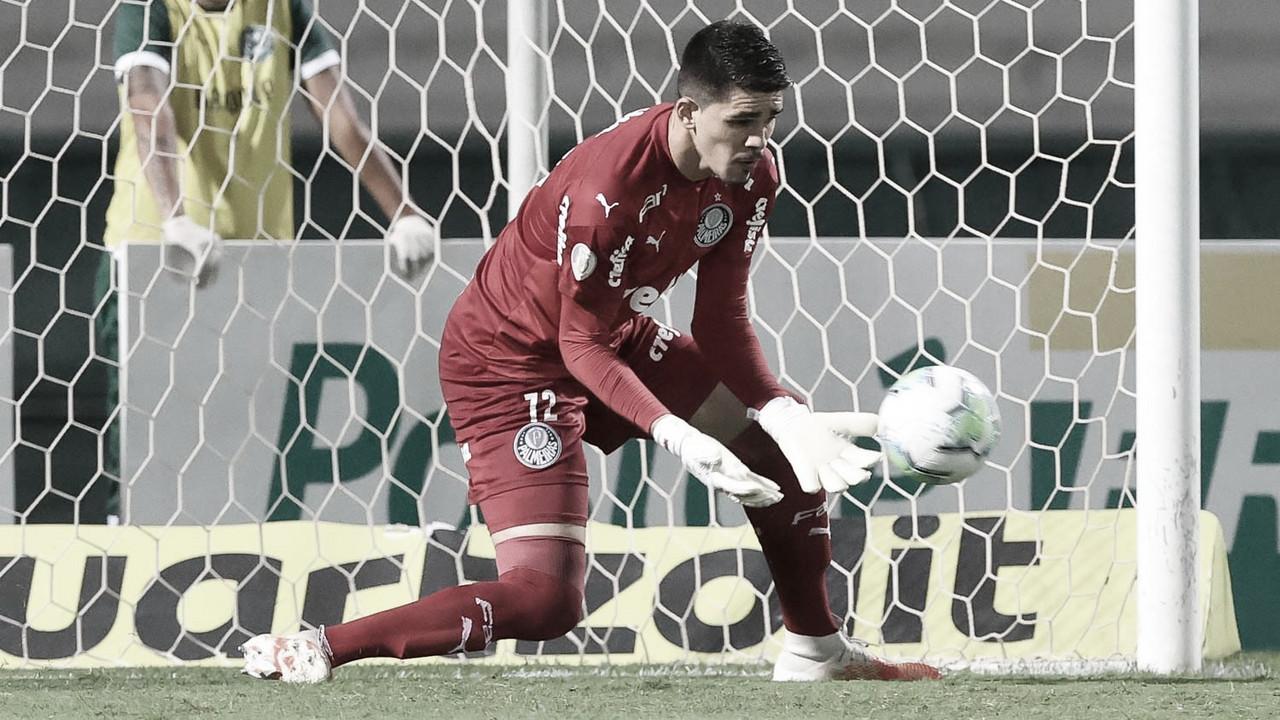 """Mesmo com derrota, Vinicius comemora oportunidade no Palmeiras: """"Quero crescer e evoluir cada vez mais"""""""