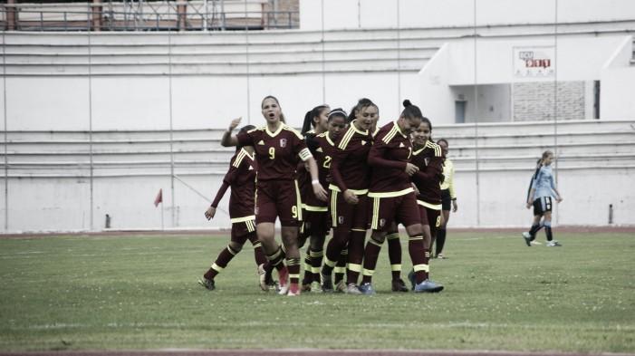 Venezuela cosechó su primer triunfo en el Sudamericano