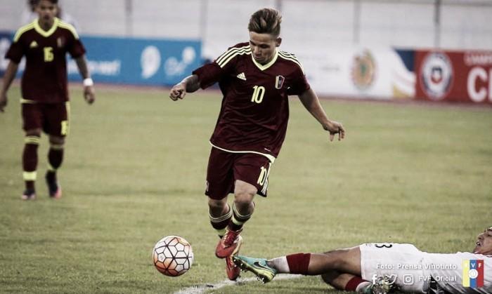 El público eligió a Soteldo como mejor jugador ante Bolivia