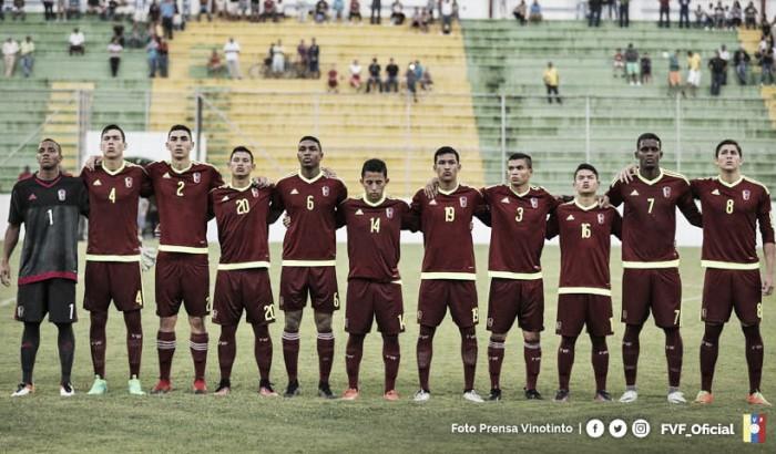 'Los Chamos' empataron ante Honduras