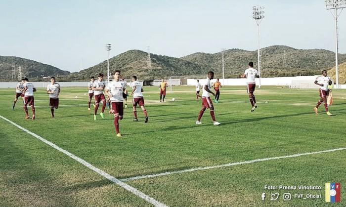 Venezuela jugará amistosos con la sub 20 de Honduras en Tegucigalpa
