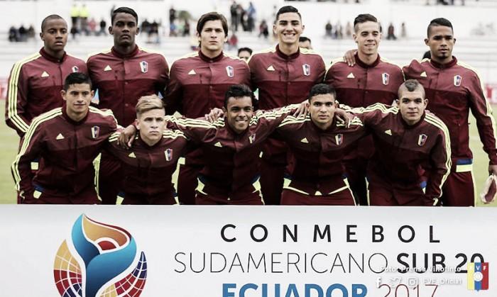 Resumen Ecuador vs Venezuela por el Sudamericano sub-20(2-4)