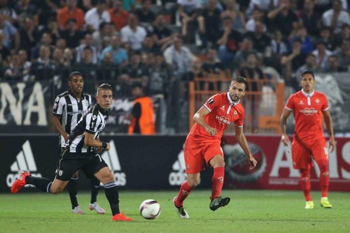 """UEFA Europa League, gruppo J - La """"Viola"""" sbatte sul muro ellenico: solo 0-0 col PAOK"""