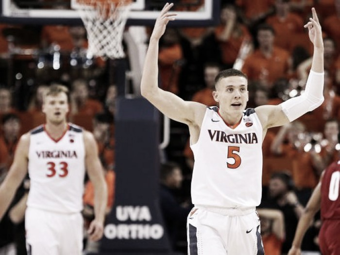 NCAA Basketball: Virginia wins defensive struggle 49-37 against Wisconsin in Big Ten-ACC Challenge