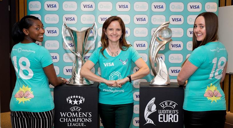 Visa becomes the major sponsor in UEFA Women's Football
